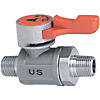 Compact Ball Valves/Stainless Steel/PT Male/PT Male