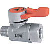 Compact Ball Valves/Stainless Steel/PT Male/PT Female