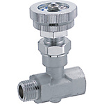 Needle Valve with PT Male Threads/Stainless Steel