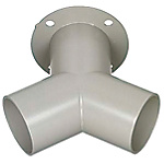 Aluminum Duct Hose Fittings - Y-Shaped (MISUMI)