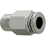 All Stainless Steel One-Touch Couplings - Male Connectors