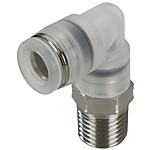 One-Touch Couplings for Clean Applications/90 Deg. Elbow