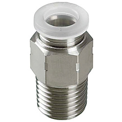 One-Touch Couplings for Clean Applications - Straight