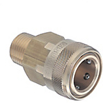 Fluid Couplers - No Valve Type - Threaded Sockets