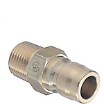 Quick Couplings/Plug/Threaded/No Valve