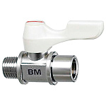 Compact Ball Valves/Brass/PT Threaded/PF Threaded