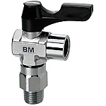 Compact Ball Valves - Rotary Elbow - PT Male / PF Female