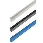 Rack Gears-L Fixed/Economy Type/Both Ends Machined Type