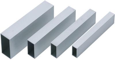 20 x 10 x 2 mm 500 mm lunghezza 500 mm 1 20 x 10 x 2 mm Tubo rettangolare in alluminio