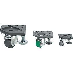 Casters&Leveling Mounts Assembly/Standard