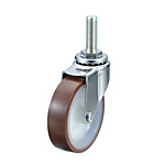 Screw-In Casters - Light / Medium Load - Swivel, Swivel with Stopper