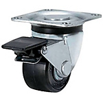 Casters/Low Floor Type/Swivel