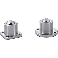 Ball Casters/Round Flange
