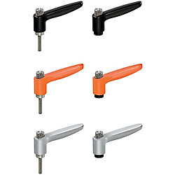 Push Button Clamp Levers