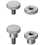 Knurled Knobs/Small Diameter