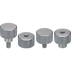 Twill Knurled Knobs NOBX4-10