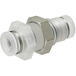 One-Touch Couplings for Clean Applications - Panel Mount
