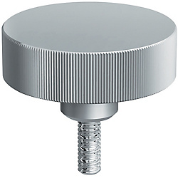Large Diameter Knurled Knobs