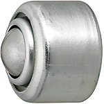 Ball Rollers/Built-in Spring/Press Formed Flange Mounting