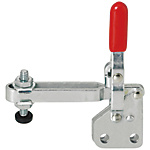 Toggle Clamps-Vertical Handle/Long Arm Type/Straight Base/Arm 100°/Handle 56°