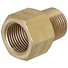 Brass Fittings for Steel Pipe/Socket/Threaded/Tapped