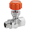 Needle Valve/PT Male/Tappeds/Stainless Steel