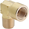 Brass Fittings/90 Deg. Elbow/Threaded/Tapped