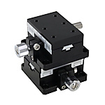 [High Precision] XY-Axis Dovetail Slide, Rack & Pinion - Rectangular, Reinforced Clamp