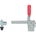 Toggle Clamps-Vertical Handle/Welded Tip/Straight Base/Arm 100°/Handle 56°