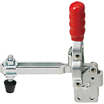 Toggle Clamps-Vertical Handle/Long Arm Type/Straight Base/Arm 95°/Handle 60°