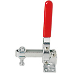Toggle Clamps-Vertical Handle/Flange Base/Arm 110°/Handle 64°