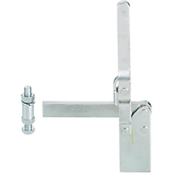 Toggle Clamps-Vertical Handle/Welded Tip/Straight Base/Arm 160°/Handle 88°