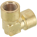 Brass Fittings for Steel Pipe/90 Deg. Elbow