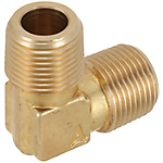 Brass Fittings for Steel Pipe/90 Deg. Elbow/Threaded