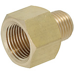 Brass Fittings for Steel Pipe/Reducer Socket/Threaded/Tapped