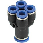 One-Touch Couplings/Manifold/Double Y-Shaped