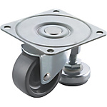 Casters with Adjustment Pads/Ultra Light Load Type