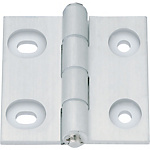 Aluminium Hinges with Slotted Hole