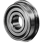 Small Ball Bearing/Double Shielded/Stainless with Flange
