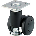 Casters/Threaded/Swivel with Plate