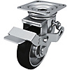 Casters/Safety Pedal Type