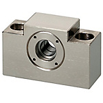 Support Units - Fixed Side, Square <Cost Reduction> - Fixed Side Radial Bearing Type (Economical, for Low Speed Applications)