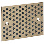 Oil Free Slide Plates - Copper Alloy Configurable Type
