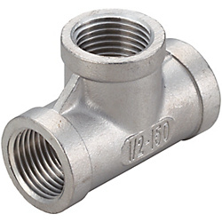 [C-VALUE] Low Pressure Screw Fittings - Equal Dia., Tees C-SUTPT6A