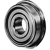 Deep Groove Ball Bearing/Double Shielded/Stainless with Flange (C-Value)