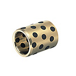 Oil Free Bushings - Copper Alloy Straight / Thin Wall, I.D. F7 O.D. m6