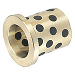 Oil Free Bushings - Copper Alloy, Flanged, Thin Wall