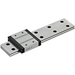 Miniature Linear Guides - Wide Rails - Standard Blocks, Light Preload / Slight Clearance