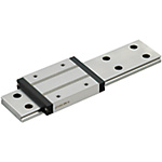 Miniature Linear Guides - Wide Rails - Long Blocks, Light Preload