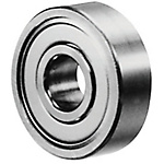 Deep Groove Ball Bearing/Double Shielded/Stainless (C-Value)